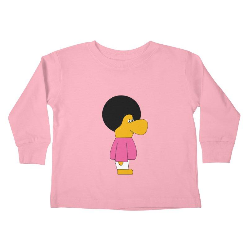 Big Nose Kids Toddler Longsleeve T-Shirt by theladyernestember's Artist Shop