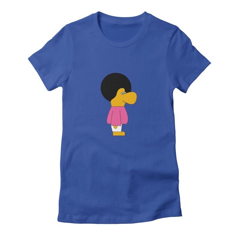 Big Nose Women's Fitted T-Shirt by theladyernestember's Artist Shop