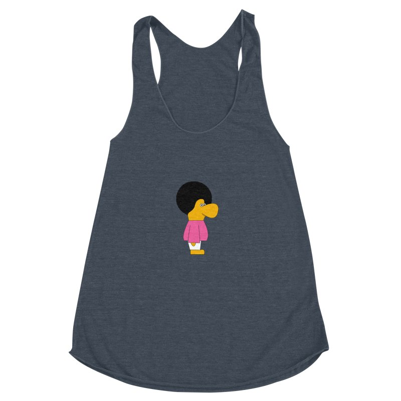 Big Nose Women's Racerback Triblend Tank by theladyernestember's Artist Shop