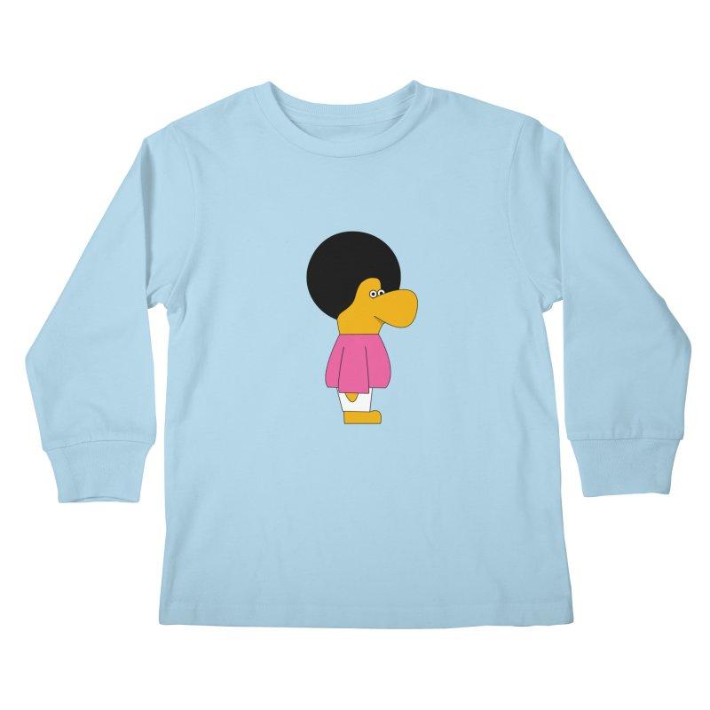 Big Nose Kids Longsleeve T-Shirt by theladyernestember's Artist Shop