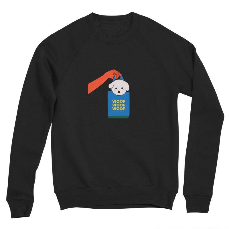 Puppy Women's Sponge Fleece Sweatshirt by theladyernestember's Artist Shop