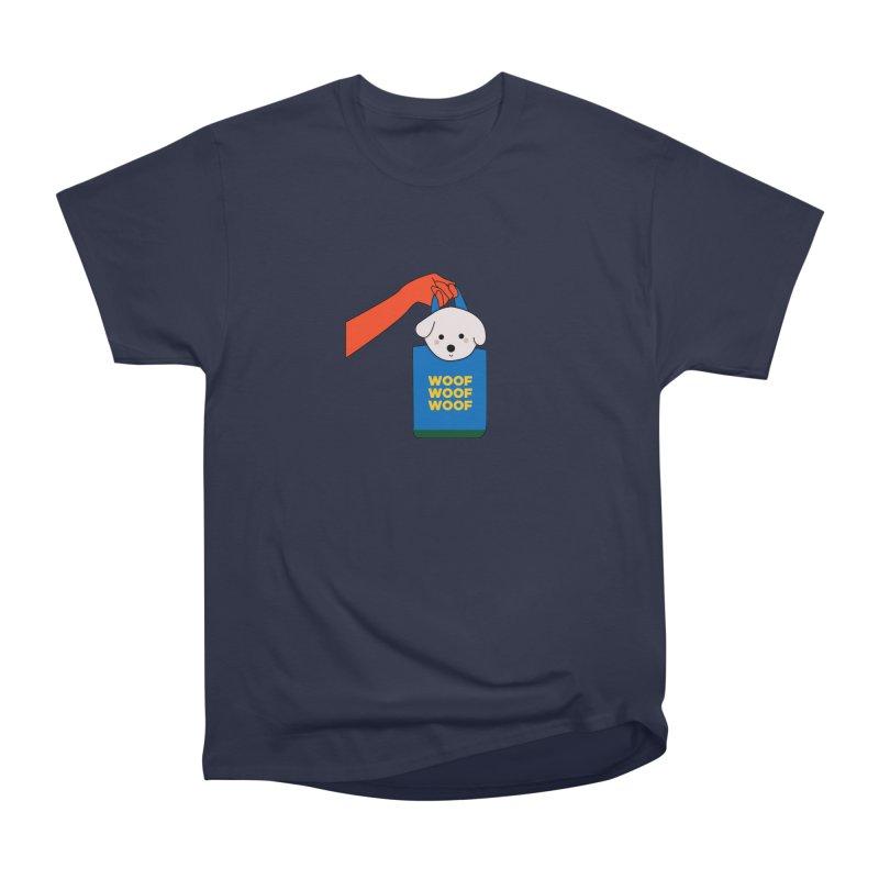 Puppy Men's Heavyweight T-Shirt by theladyernestember's Artist Shop