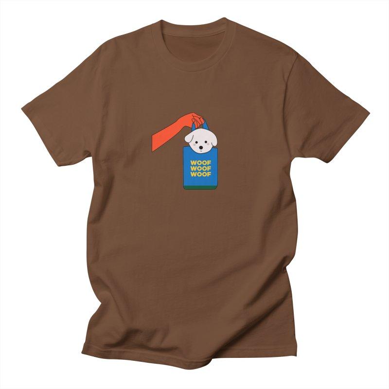 Puppy Men's Regular T-Shirt by theladyernestember's Artist Shop