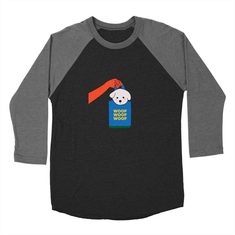 Puppy Women's Baseball Triblend Longsleeve T-Shirt by theladyernestember's Artist Shop