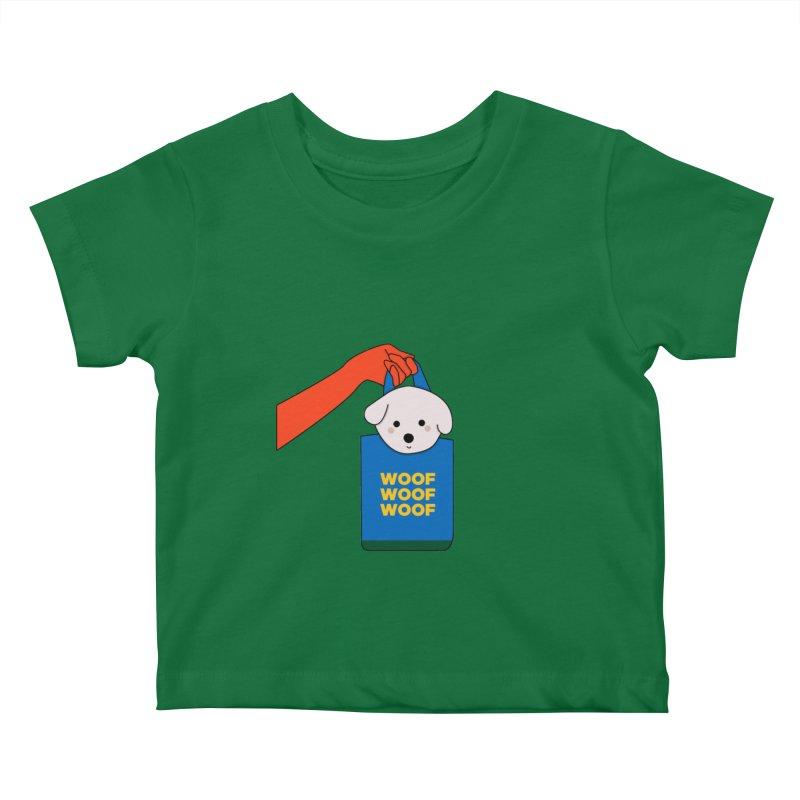 Puppy Kids Baby T-Shirt by theladyernestember's Artist Shop