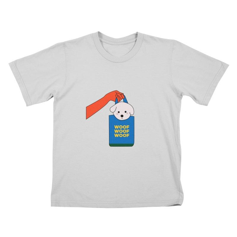 Puppy Kids T-Shirt by theladyernestember's Artist Shop
