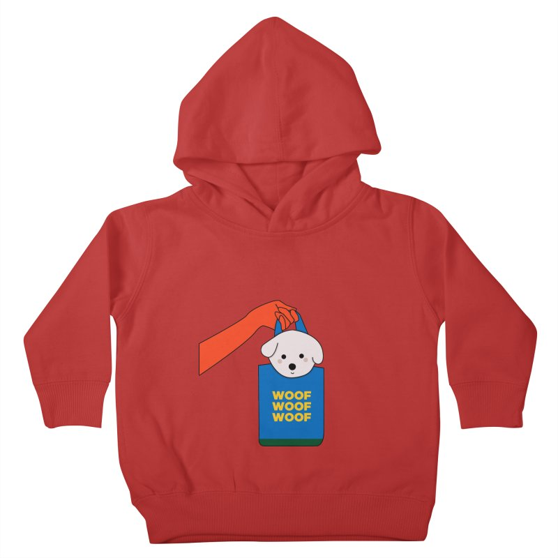 Puppy Kids Toddler Pullover Hoody by theladyernestember's Artist Shop