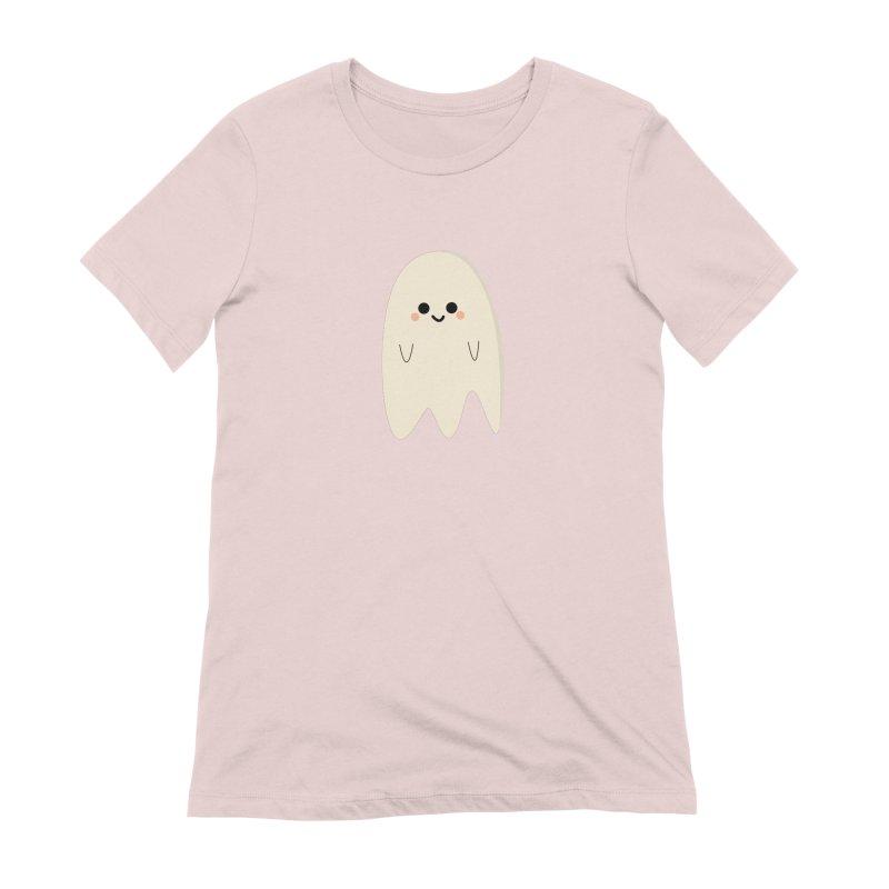 Boo Women's Extra Soft T-Shirt by theladyernestember's Artist Shop