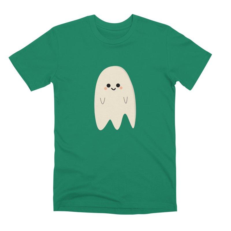 Boo Men's Premium T-Shirt by theladyernestember's Artist Shop