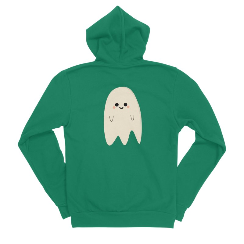 Boo Men's Sponge Fleece Zip-Up Hoody by theladyernestember's Artist Shop