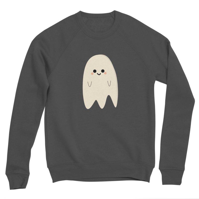 Boo Men's Sponge Fleece Sweatshirt by theladyernestember's Artist Shop