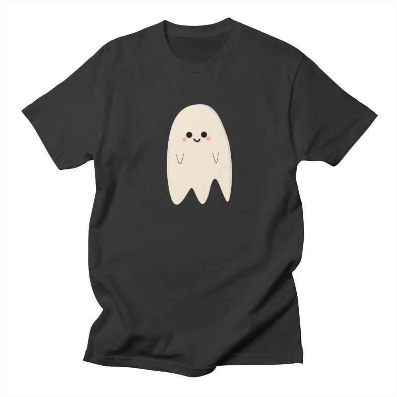 Boo Men's Regular T-Shirt by theladyernestember's Artist Shop