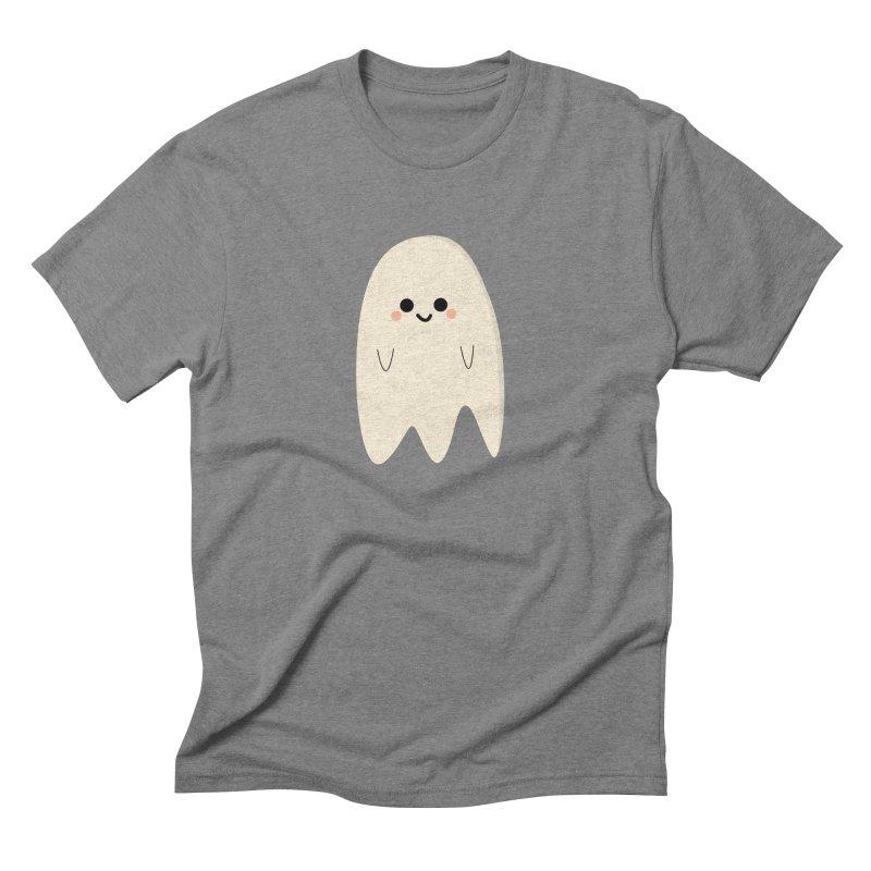 Boo Men's Triblend T-Shirt by theladyernestember's Artist Shop