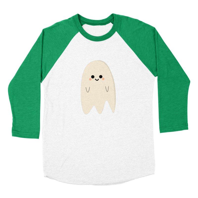 Boo Men's Baseball Triblend Longsleeve T-Shirt by theladyernestember's Artist Shop