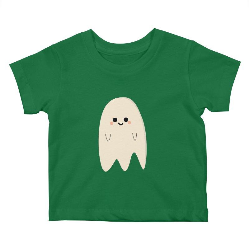 Boo Kids Baby T-Shirt by theladyernestember's Artist Shop