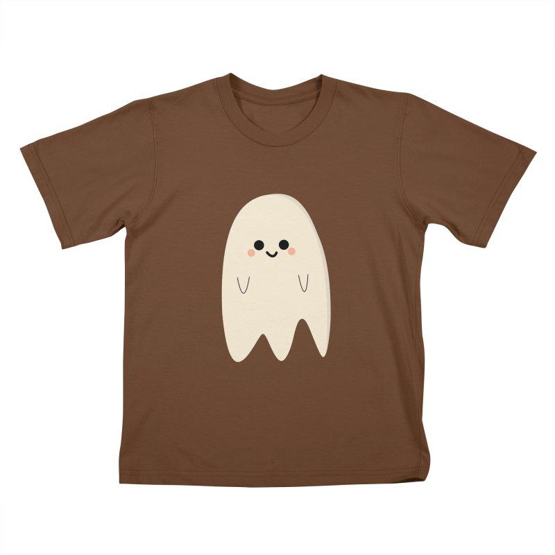 Boo Kids T-Shirt by theladyernestember's Artist Shop