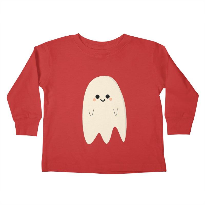 Boo Kids Toddler Longsleeve T-Shirt by theladyernestember's Artist Shop
