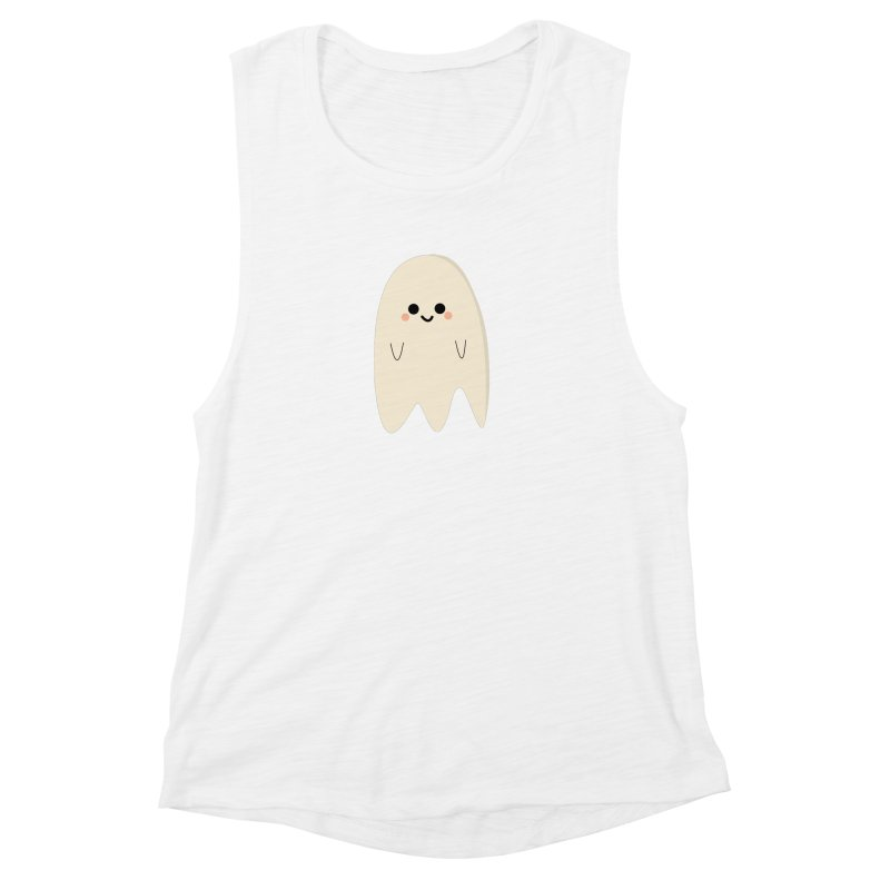 Boo Women's Muscle Tank by theladyernestember's Artist Shop