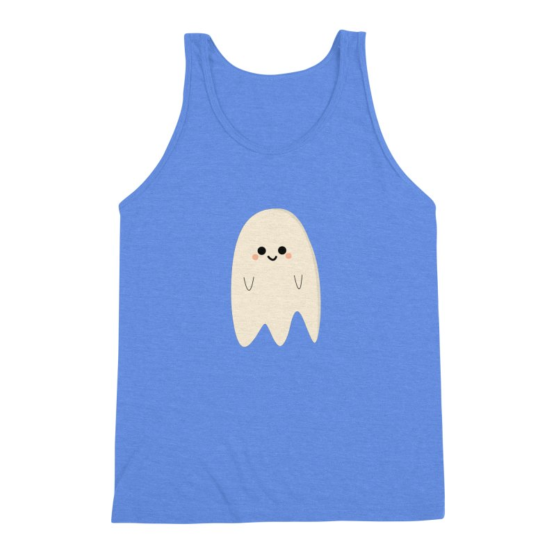 Boo Men's Triblend Tank by theladyernestember's Artist Shop