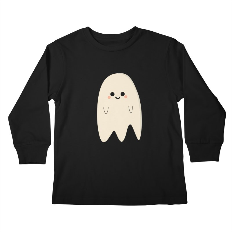 Boo Kids Longsleeve T-Shirt by theladyernestember's Artist Shop