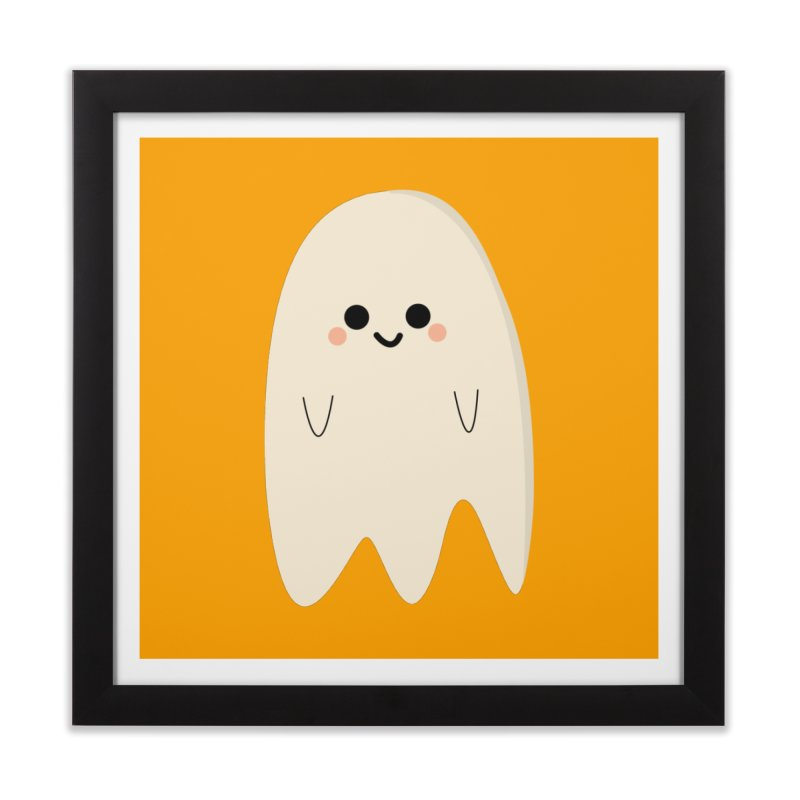 Boo Home Framed Fine Art Print by theladyernestember's Artist Shop