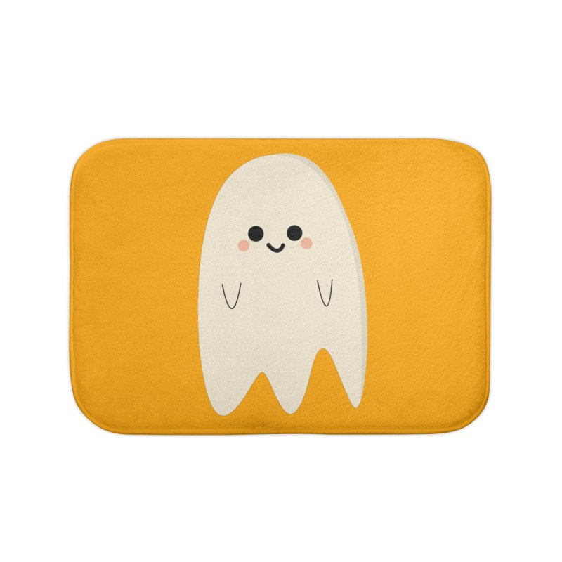 Boo Home Bath Mat by theladyernestember's Artist Shop