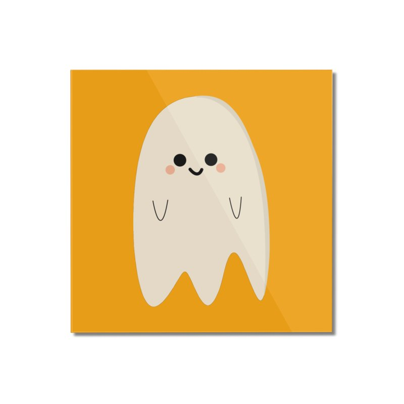 Boo Home Mounted Acrylic Print by theladyernestember's Artist Shop