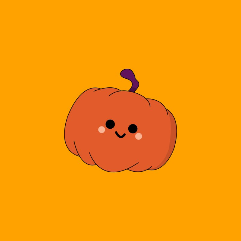 Pumpkin Accessories Sticker by theladyernestember's Artist Shop