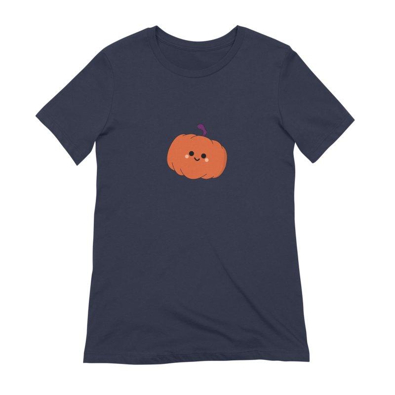 Pumpkin Women's Extra Soft T-Shirt by theladyernestember's Artist Shop