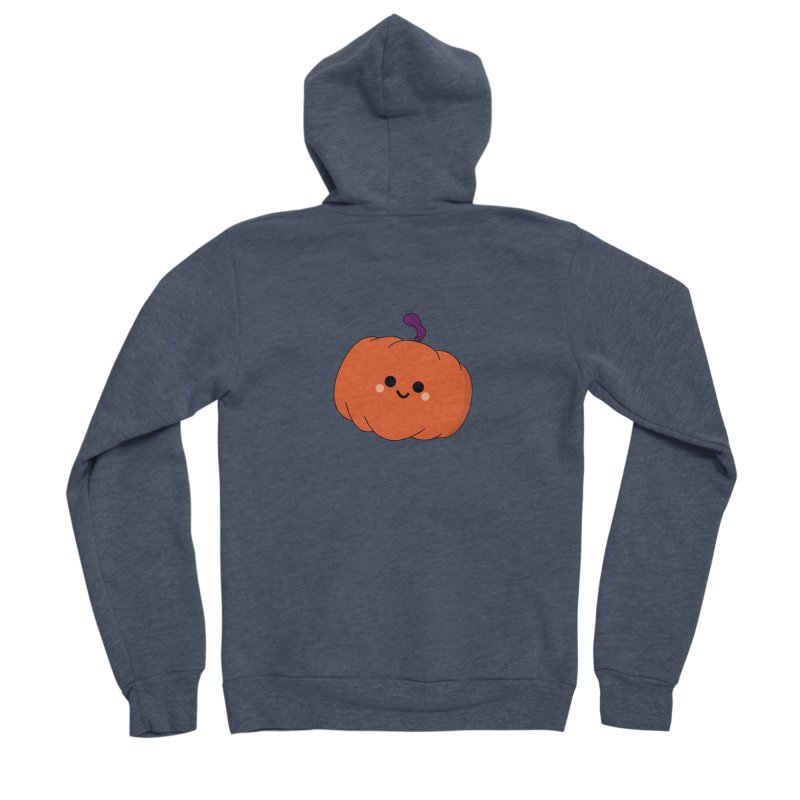 Pumpkin Women's Sponge Fleece Zip-Up Hoody by theladyernestember's Artist Shop