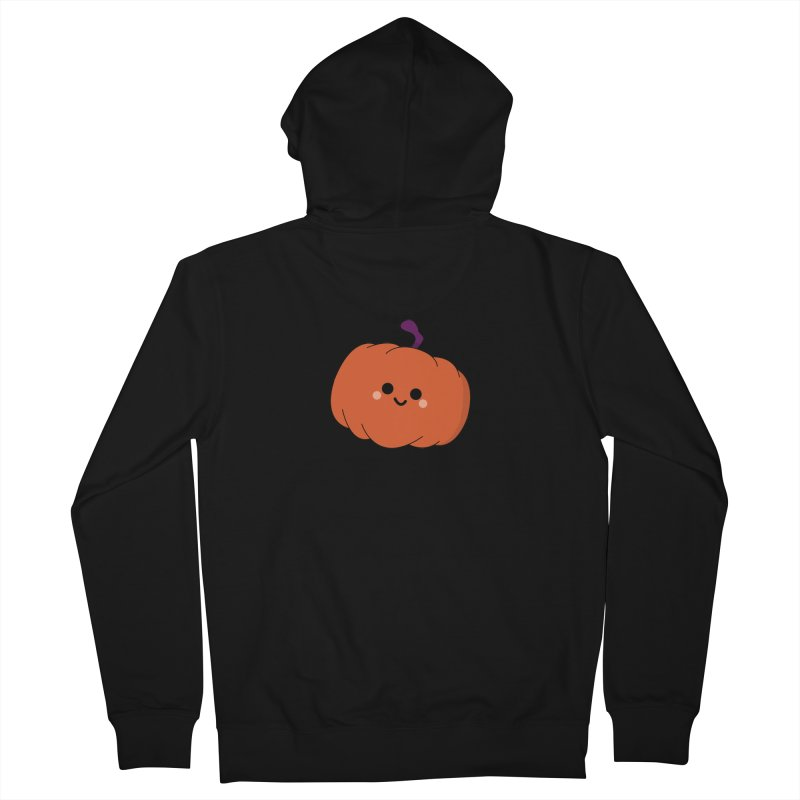 Pumpkin Men's French Terry Zip-Up Hoody by theladyernestember's Artist Shop