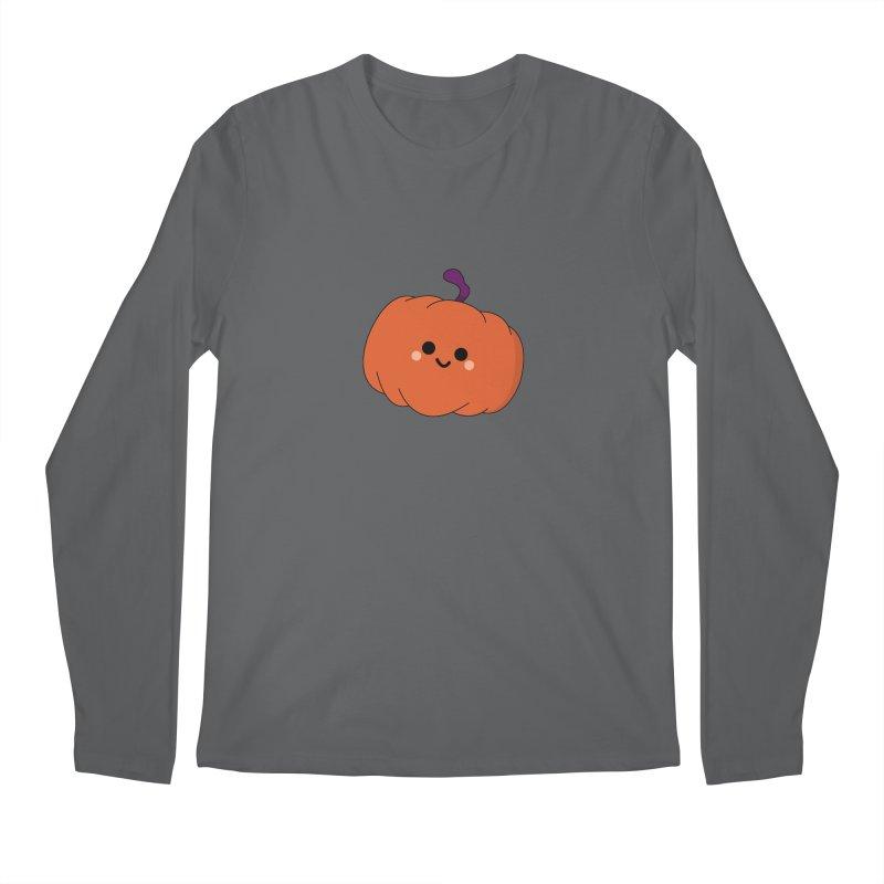 Pumpkin Men's Longsleeve T-Shirt by theladyernestember's Artist Shop
