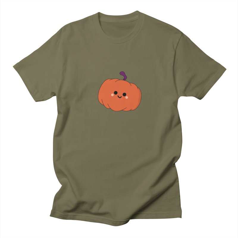 Pumpkin Men's T-Shirt by theladyernestember's Artist Shop