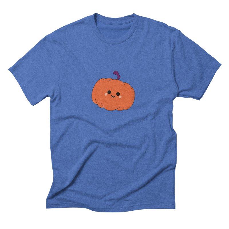 Pumpkin Men's Triblend T-Shirt by theladyernestember's Artist Shop