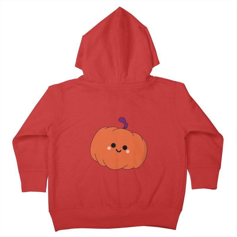 Pumpkin Kids Toddler Zip-Up Hoody by theladyernestember's Artist Shop