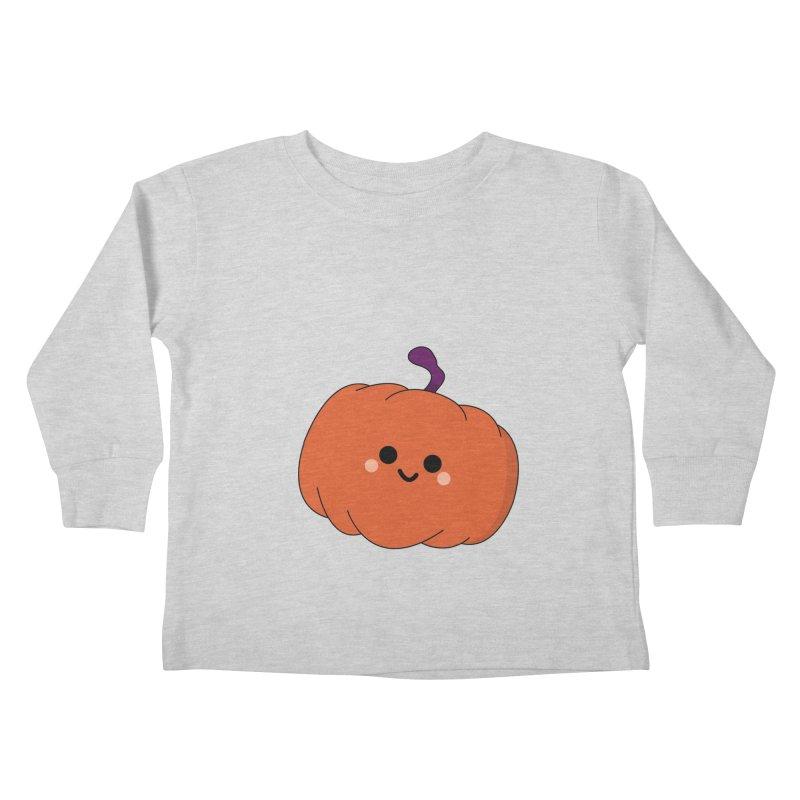 Pumpkin Kids Toddler Longsleeve T-Shirt by theladyernestember's Artist Shop