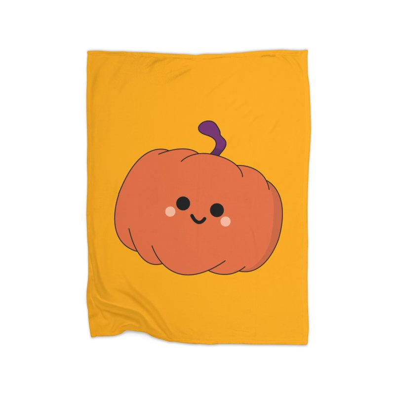 Pumpkin Home Blanket by theladyernestember's Artist Shop
