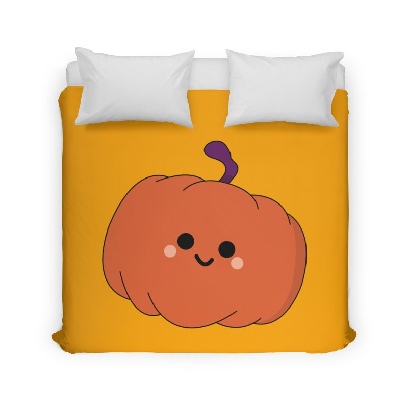 Pumpkin Home Duvet by theladyernestember's Artist Shop