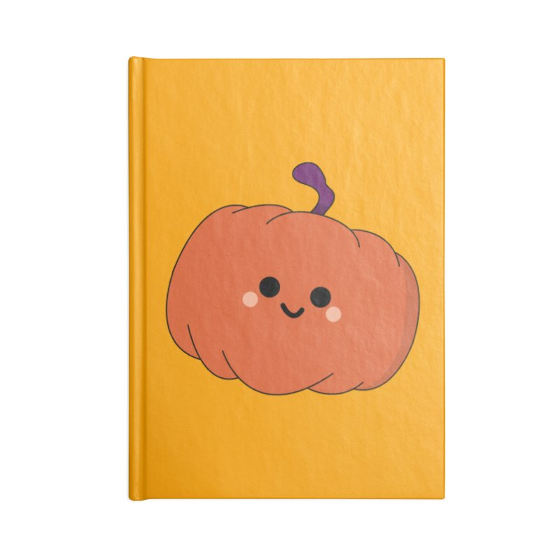 Pumpkin Accessories Notebook by theladyernestember's Artist Shop