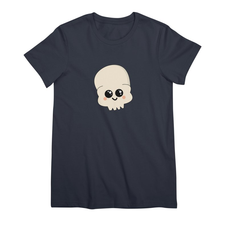 Skull Women's Premium T-Shirt by theladyernestember's Artist Shop