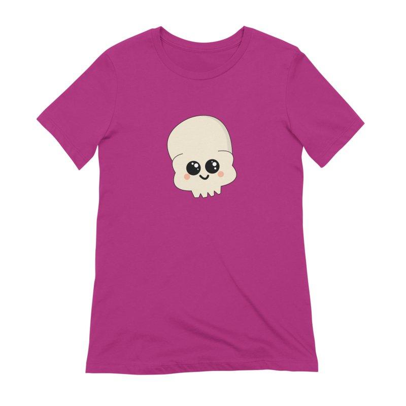 Skull Women's Extra Soft T-Shirt by theladyernestember's Artist Shop