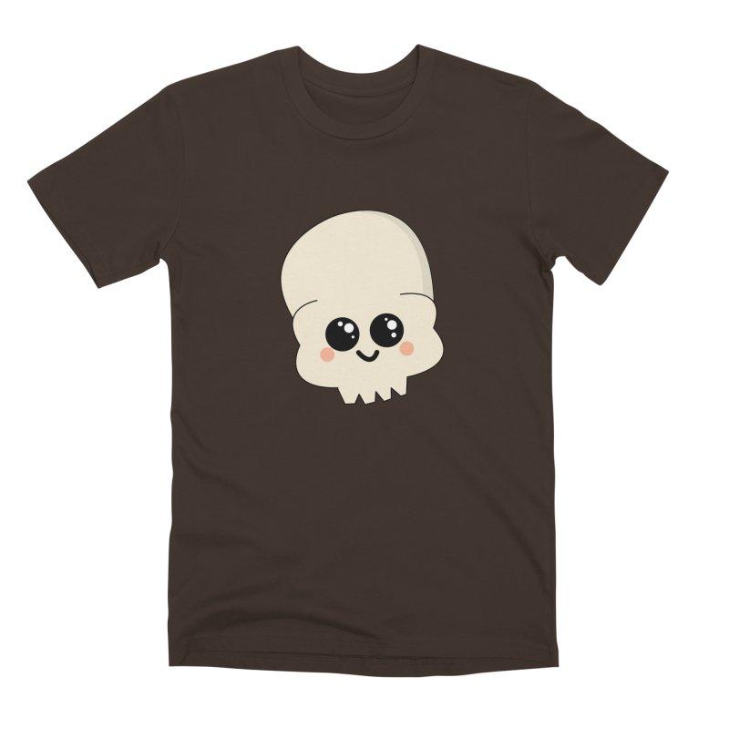 Skull Men's Premium T-Shirt by theladyernestember's Artist Shop