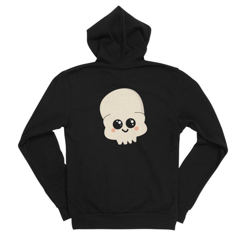 Skull Women's Sponge Fleece Zip-Up Hoody by theladyernestember's Artist Shop