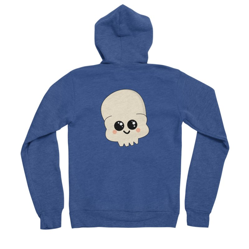 Skull Men's Sponge Fleece Zip-Up Hoody by theladyernestember's Artist Shop