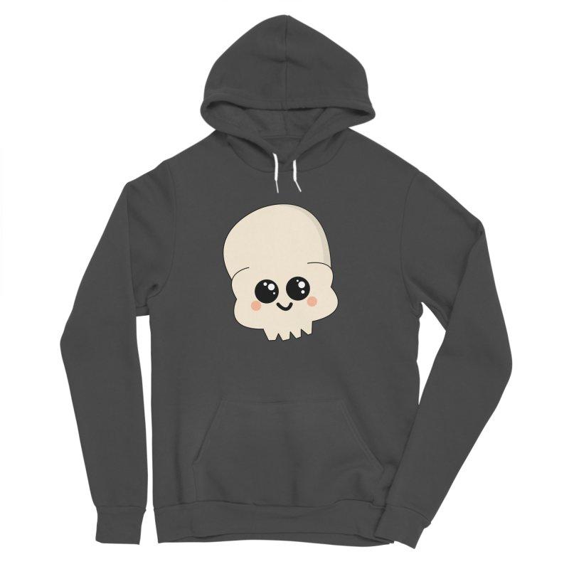 Skull Men's Sponge Fleece Pullover Hoody by theladyernestember's Artist Shop