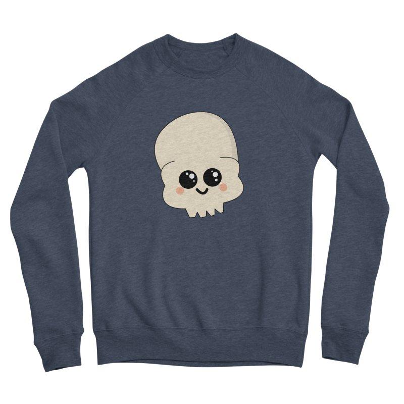 Skull Women's Sponge Fleece Sweatshirt by theladyernestember's Artist Shop