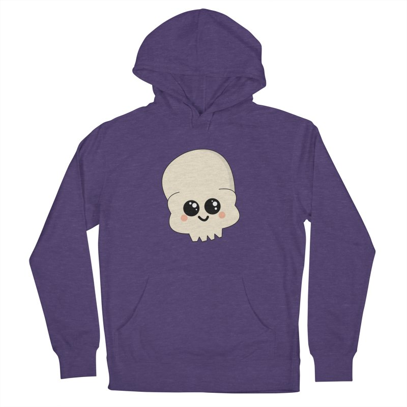 Skull Men's French Terry Pullover Hoody by theladyernestember's Artist Shop