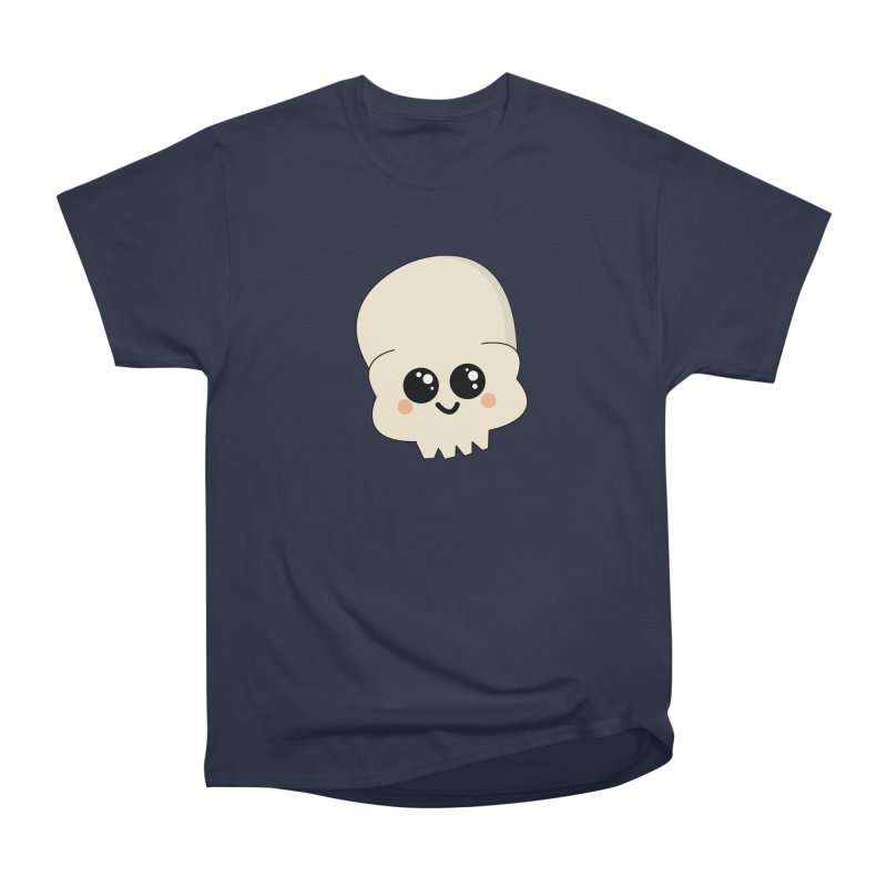Skull Men's Heavyweight T-Shirt by theladyernestember's Artist Shop