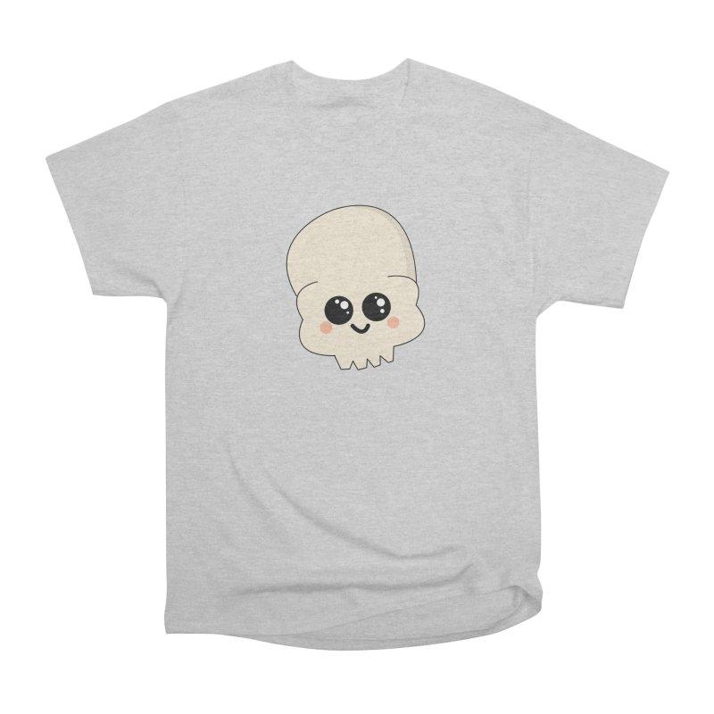 Skull Women's Heavyweight Unisex T-Shirt by theladyernestember's Artist Shop