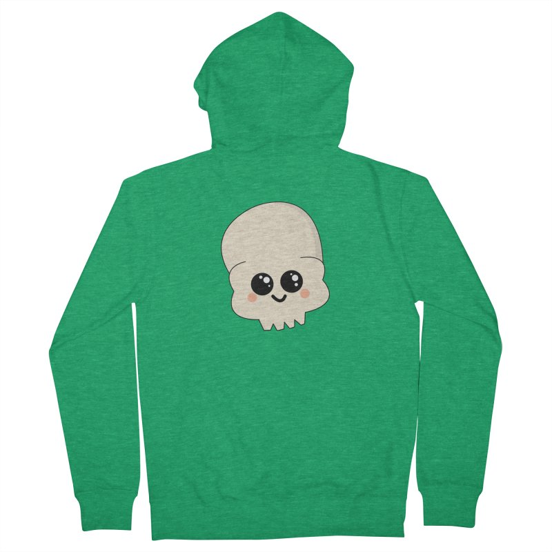 Skull Men's Zip-Up Hoody by theladyernestember's Artist Shop